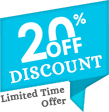 20 % Discount